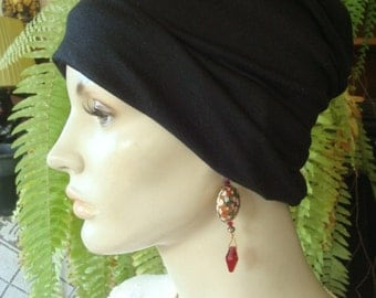 Womens Chemo Cap Chemo Hat Sleep Caps womens chemo scarf liner slouchy hat
