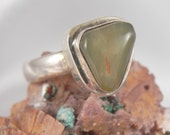 Sterling Agate Ring