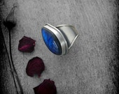 RESERVED - Labradorite and Sterling Silver Ring