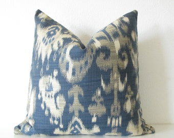 Pillow SALE  blue kat decorative throw pillow cover