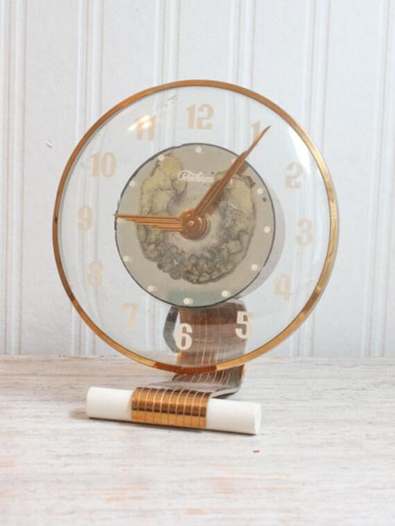 horloge art deco horloge telechron satellite horloge. Black Bedroom Furniture Sets. Home Design Ideas