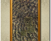 Hornets - Fine Art Print on heavy Cotton Canvas - unframed