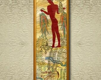 Minoans II - Fine Art Print on heavy Cotton Canvas - unframed