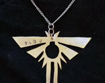 Firefly Pendant - Handmade - Metalwork