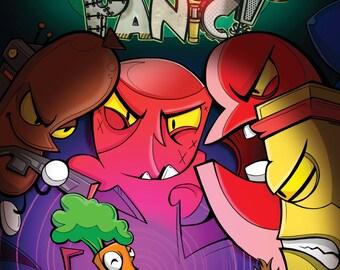 Organic Panic Comic Book