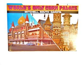World's Only Corn Palace, Mitchell, South Dakota, a Vintage Tourist Book