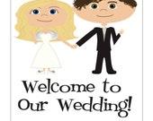 Wedding Door Hangers, Welcome Basket Ideas, Personalized Hangers