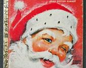 "vintage ""Santa's Surprise Book"" little golden book"