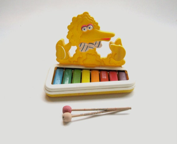 Sesame Street Musical Toys : Items similar to musical toy big bird xylophone sesame