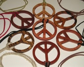 Veteran for Peace Sign Necklace