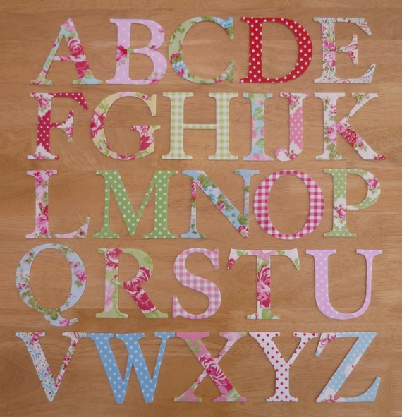 how to make iron on letters 4 shabby chic iron on fabric letters 10cm uppercase 22332 | il 570xN.584978974 74z6