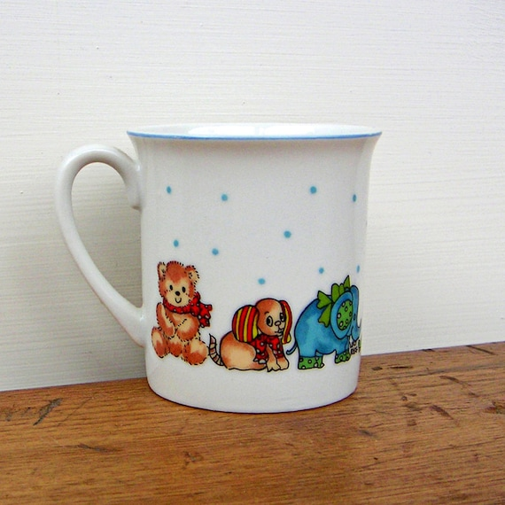 Lucy Rigg Rigglets Childs Cup Animals on Parade