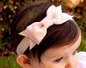 Baby Bow, Set of 6, Baby headband, Large Bowtie Bow Headband, Baby headband, infant headband, baby headbands, girls bow, baby bow headband