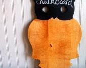Vintage Owl Cutting Board / Chalkboard / Cheeseboard
