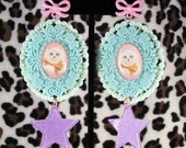 Kawaii Kitty Pastel Earrings