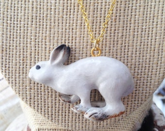 Runaway Bunny Rabbit Necklace