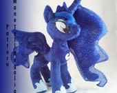 Instant Download Pony Princess Shining Mane Tail and Regalia Pattern