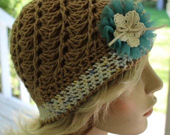 Vintage Inspired Women's Swirl Hat, Newborn Baby, Toddler, Teen, Adult, Color. Gatsby Style Woman Cloche, Crochet  Hat,