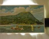 Custom Listing for bwalik                  Ship Railroad Niagara Falls Hold-To-Light Anthony's Nose Hudson River NY Short Rail Road Postcard