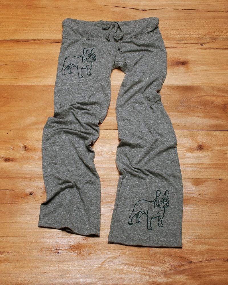 Pant...pant...pant...LETS PLAY French Bulldog Pants Yoga