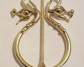 Bronze Dragon Pennanular Brooch