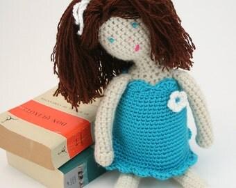 PDF DIGITAL PATTERN:Crochet Doll Pattern,Crochet Amigurumi Doll Pattern,Doll Pattern Crochet,Girls Dolls,18 Inch Doll Clothes Pattern,Gift