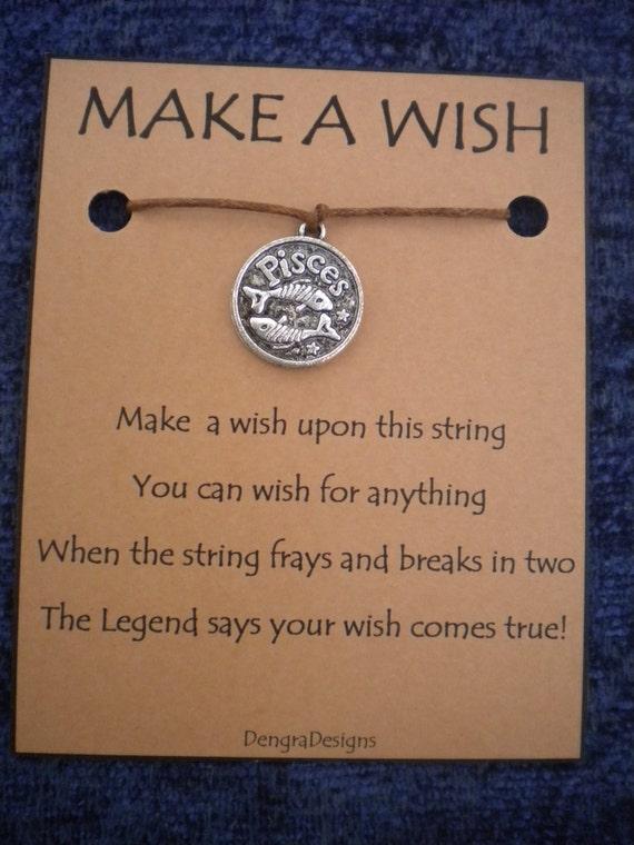 Pisces Wish String