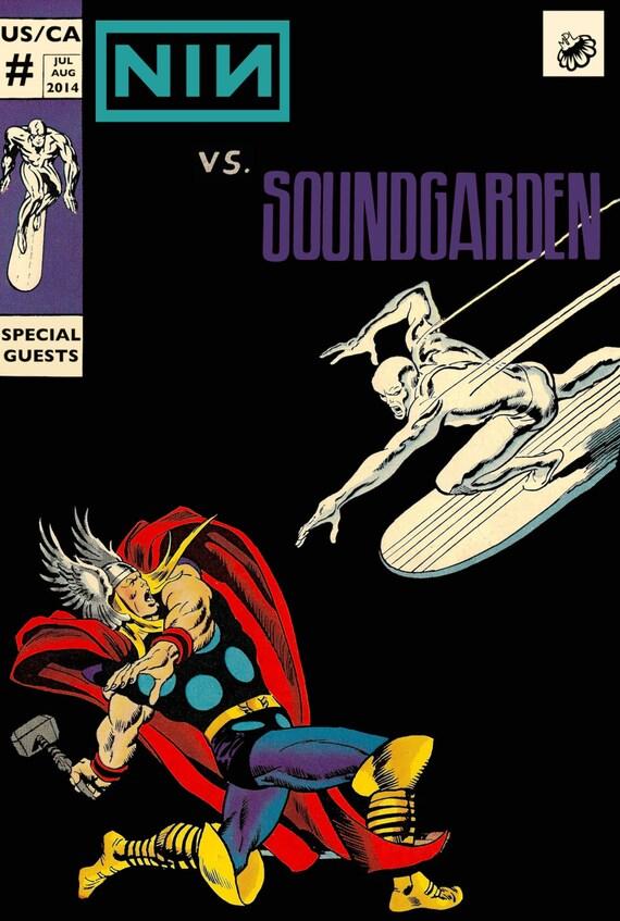 Nine Inch Nails / Soundgarden Poster (U.S. / Canada Tour 2014): https://www.etsy.com/listing/196811430/nine-inch-nails-soundgarden...