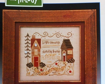 The Trilogy SIMPLE BLESSINGS SAMPLER - Counted Cross Stitch Pattern Chart