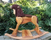 Handcrafted Wooden Rocking Horse-Heritage Editon Pony