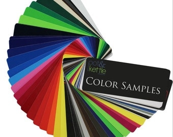 Vinyl Color Samples | Vinyl Swatches | FREE SHIPPING