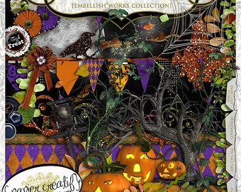 BOODalicious! by Papier Creatif - Halloween Digital Kit