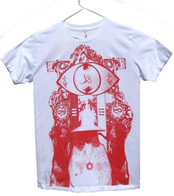 Alejandro Jodorowsky's HOLY MOUNTAIN T-Shirt sizes S-M-L-XL