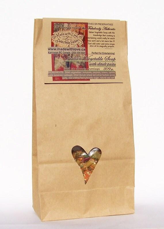 ... Organic Soup Mix - Pantry Staples - Food Herb Pasta DIY Magic Meal Kit