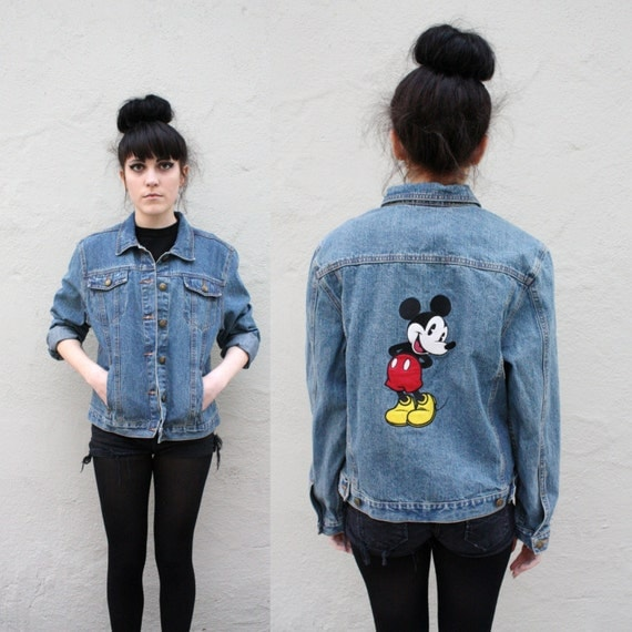 Mickey Mouse Denim Jacket
