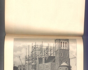 Church of Christ Scientist in Boston, History of the Construction of the Mother Church, Mary Baker Eddy, Vintage Architecture Book from 1911