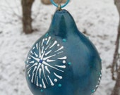 Gourd Wax Painted Ornaments - SPECIAL PRICE only on Etsy