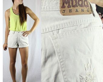 SALE Vintage Retro Tan Mudd High Waisted Shorts