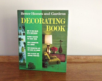 Better Homes and Gardens Decorating Book 1968