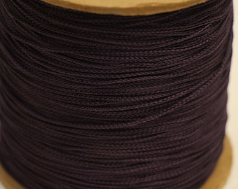 Purple Acetate Chainette Yarn