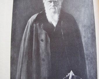 1927 Charles  Darwin The man and his Warfare book