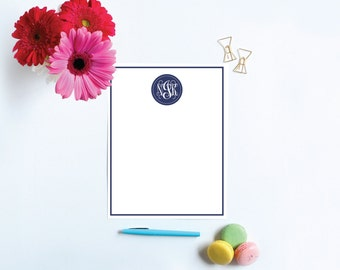 Personalized Printable Stationery, Monogram Stationery, Monogram Stationary, Girls Stationery, Custom Stationery, Personalized Stationary