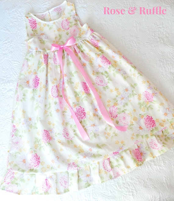 Girl 39 S Old Fashioned Cotton Nightgown Nightdress Full