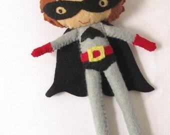 Super hero felt toy / doll for super kids