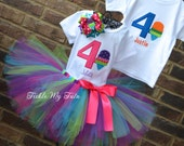 Boy/Girl Twin Ice Cream Themed Birthday Outfits, Ice Cream Party Tutu Set, Twin Ice Cream Party, Twin Snowcone Party *Bow NOT Included*