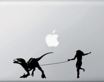 "MB - Raptor Walker - Macbook or Laptop Decal Copyright ©  (8.5""w x 3""h)"