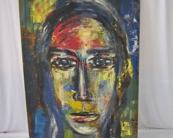 German Abstract Painting, Signed