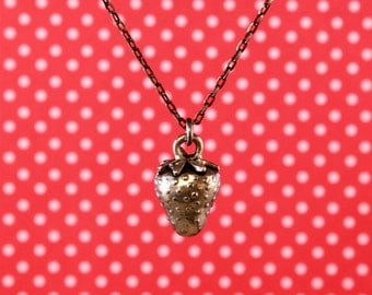 "Strawberry 18"" Charm Necklace"