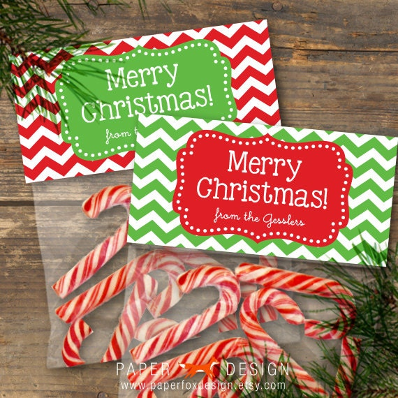 Vibrant image regarding christmas bag toppers free printable