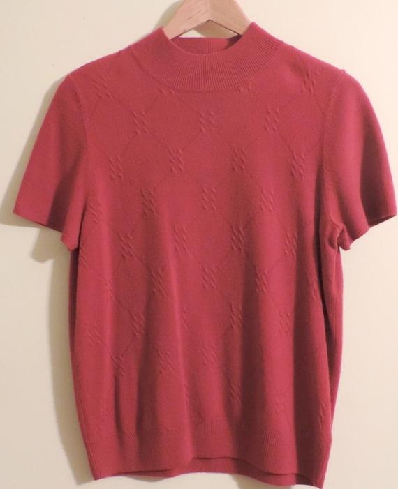 1980'sLadies Sweater SOFT by Sag Harbor Valentine's